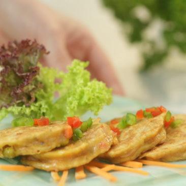 Tortillas de atún con ensalada al natural Alamar