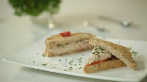 Mini sándwiches de Atún Alamar